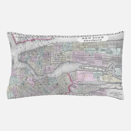 Cute New york city night Pillow Case