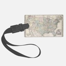 Us map Luggage Tag