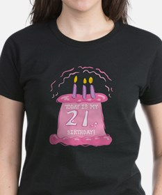 21st Birthday Cake Tee