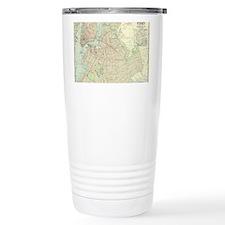 Unique Cartography Thermos Mug
