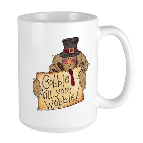 Gobble Wobble Large Mug