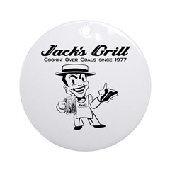 Jack's Grill Ornament (Round)