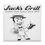 Jack's Grill Tile Coaster