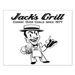 Jack's Grill Small Poster