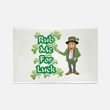 Rub Me For Luck Rectangle Magnet
