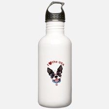 Love for the USA - Water Bottle