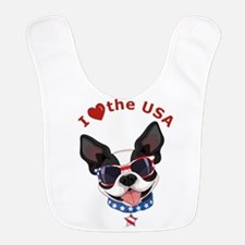 Love for the USA - Bib