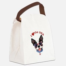 Love for the USA - Canvas Lunch Bag