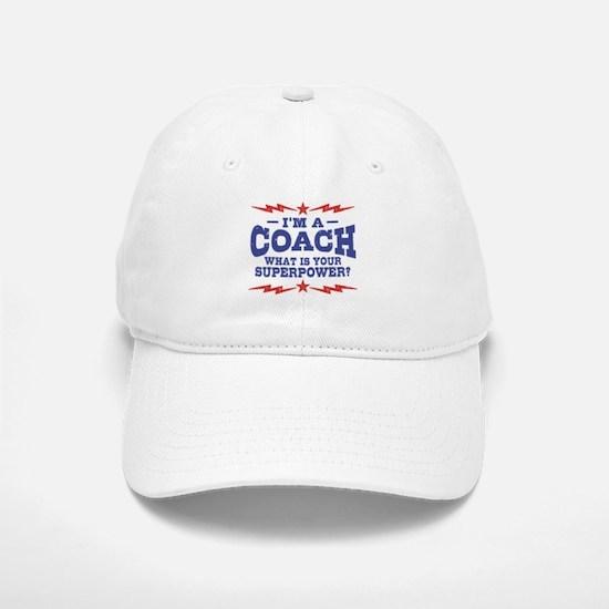 Funny Coach Baseball Baseball Cap