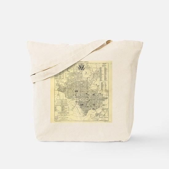 Cute District of columbia Tote Bag