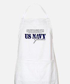 When freedom needed heroes: N BBQ Apron
