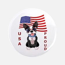 USA Proud - Button