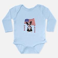 USA Proud - Long Sleeve Infant Bodysuit