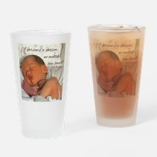 Cute Prolife Drinking Glass