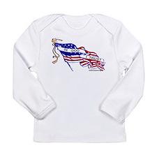 Cool Flag Long Sleeve Infant T-Shirt