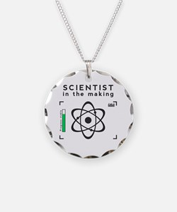 Cute Scientists and mathematicians Necklace