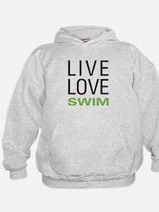Live Love Swim Hoodie