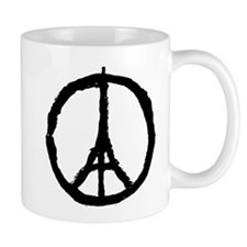 Peace For Paris Mugs
