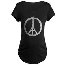 Peace For Paris Maternity T-Shirt