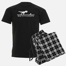 T-Rex Motivation_White.png Pajamas