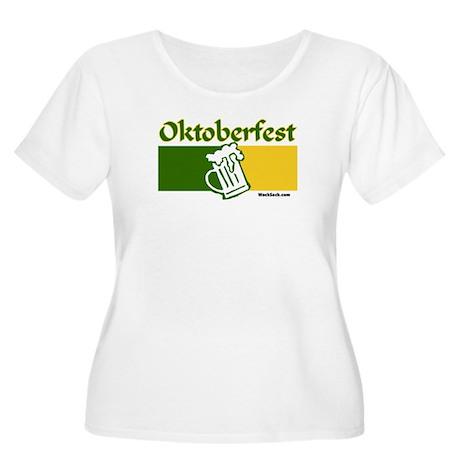 Oktoberfest Beer Women's Plus Size Scoop Neck T-Sh