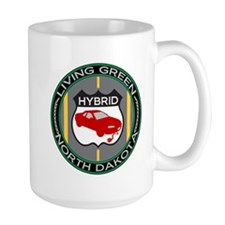 Living Green Hybrid North Dakota Mug