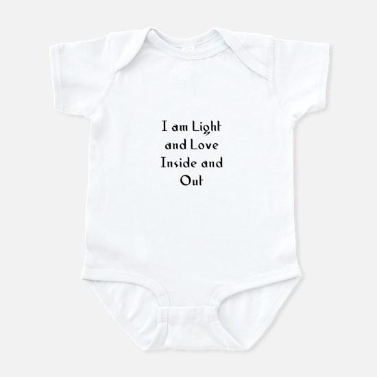 I am Light and Love Inside an Infant Bodysuit