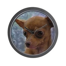 Gorgeous Chihuahua Wall Clock