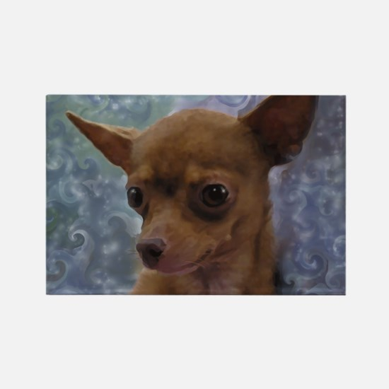 Gorgeous Chihuahua Rectangle Magnet
