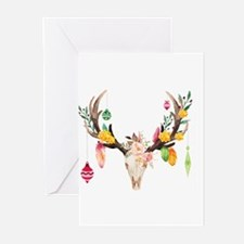 Unique Skull christmas Greeting Cards (Pk of 20)