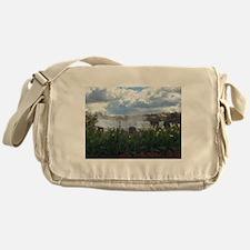 American Falls, Niagra Messenger Bag