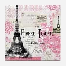 Eiffel Tower Tile Coaster