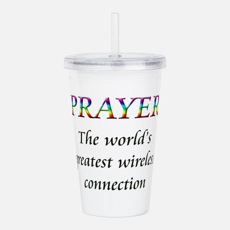 Prayer Acrylic Double-wall Tumbler