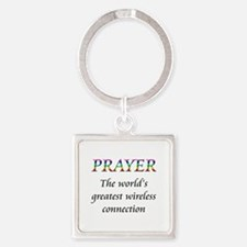 prayer copy Keychains