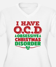 I Have OCD Obsessive Christmas Disorder Plus Size