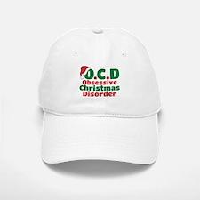 OCD Obsessive Christmas Disorder Baseball Baseball Baseball Cap