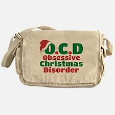 OCD Obsessive Christmas Disorder Messenger Bag