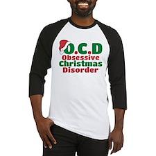 OCD Obsessive Christmas Disorder Baseball Jersey
