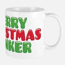 Merry Christmas Wanker Mugs