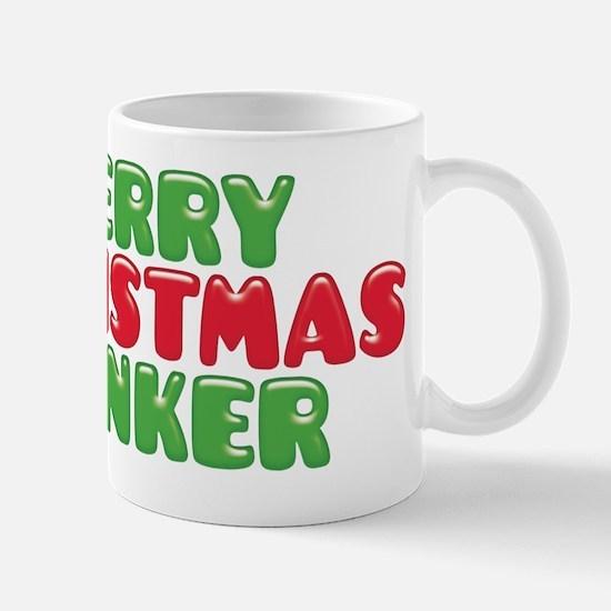 Merry Christmas Wanker Mugs