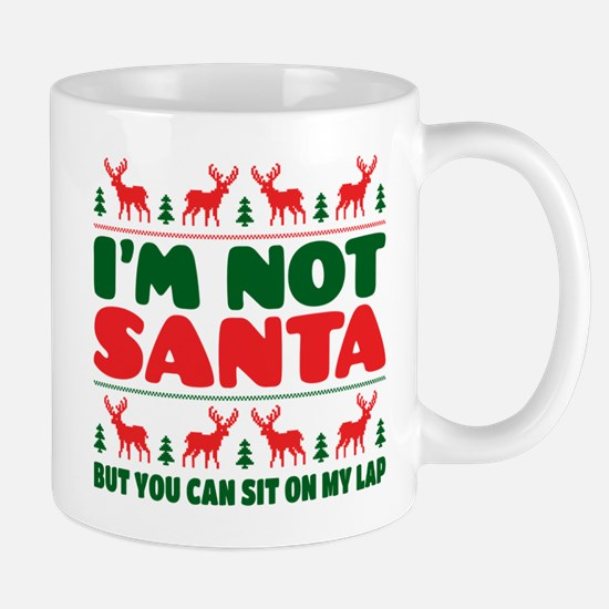I'm Not Santa But You Can Sit On My Lab Mugs