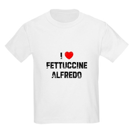 I * Fettuccine Alfredo Kids Light T-Shirt