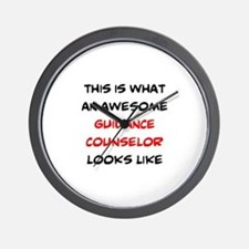awesome guidance counselor Wall Clock