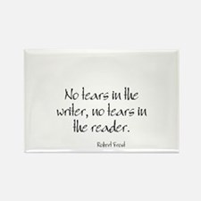 Robert Frost Quote Rectangle Magnet