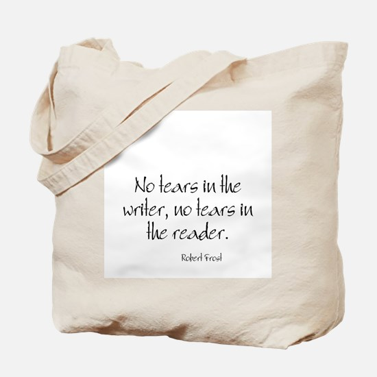 Robert Frost Quote Tote Bag