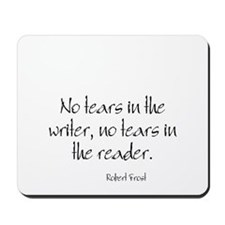 Robert Frost Quote Mousepad