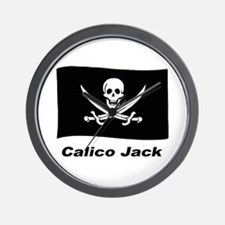 Pirate Flag - Calico Jack Wall Clock