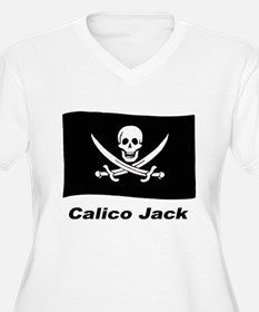 Pirate Flag - Calico Jack (Front) T-Shirt
