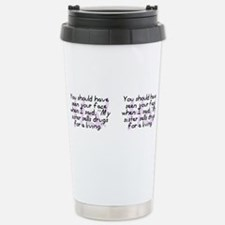Funny Rx prescription Travel Mug