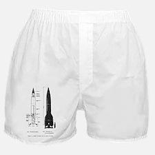 V2 Rocket Boxer Shorts